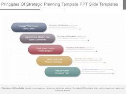 principles of strategic planning template ppt slide templates
