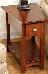 wedge end table modern interior design inspiration