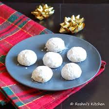 roshni u0027s kitchen snowball cookies russian tea cookies mexican