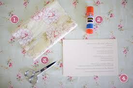 diy bridal shower invitations fabric do it yourself bridal shower invitations