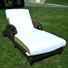 lounge chair cover tutorial beach towel chaise fitted pocket top