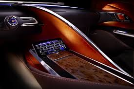 lexus lf lc how much lexus lf lc hybrid concept coupe pictures and details