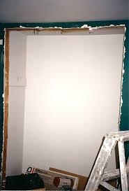widening a closet door thumb and hammer