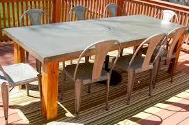 concrete top outdoor table rustic patio table concrete top concrete inlay patio table outdoor