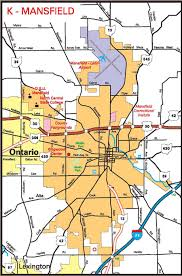 Mansfield Ohio Map by Pages 2011 2014 Ohio Transportation Map Archive