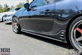 subaru frs modified scion fr s on volk te37s gets invidia n1 exhaust installed
