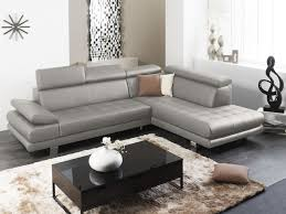 linea sofa canapé canapé d angle personnalisable en cuir italien effleurement