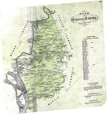 Lancaster Map Early Landowners Of Lancaster County