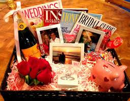 25 unique engagement gift baskets ideas on engagement