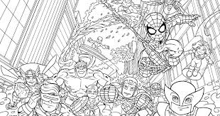 marvel super hero squad colouring pages murderthestout