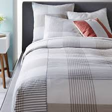 bedroom plaid duvet covers throughout king blake cover sham