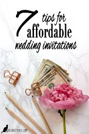 wedding invites cost wedding 7 tips for low cost and affordable wedding invitations