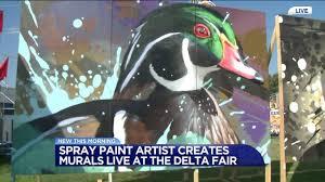 Spray Paint Artist - spray paint artist at the delta fair wreg com
