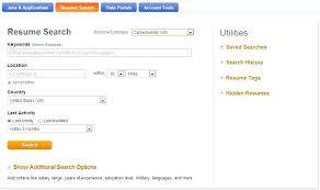 careerbuilder employer resume search career builder template 2