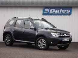 renault duster 2017 white dacia duster 1 5 dci 110 laureate 5dr estate slate grey 2017