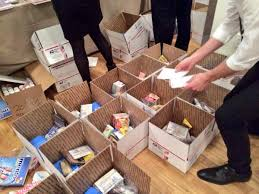 care packages for corporate volunteering