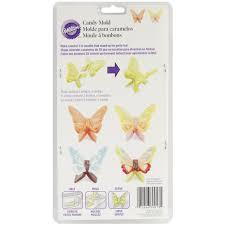 wilton halloween candy molds candy mold 4 cavity butterfly wings joann
