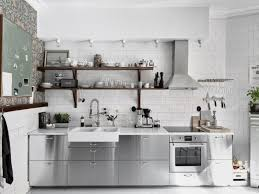 Stainless Steel Kitchen Cabinets Stainless Steel Grevsta Kitchen Google Search All Of It