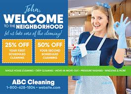 19 brilliant cleaning services janitorial direct mail
