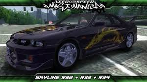 nissan skyline 2005 need for speed most wanted mod showcase nissan skyline gts t