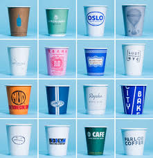 a visual survey of new york city coffee cups from gp u0027s favorite