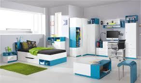 chambre enfants design bureau design ado et enfant en bois blanc et bleu jolly