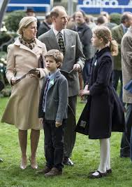 of wessex and prince edward take their children out to