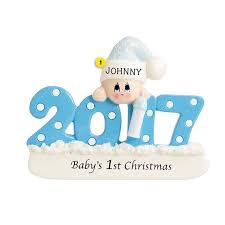 2017 baby boy 1st ornament callisters