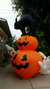 inflatable halloween cat airblown inflatables airblown inflatables halloween outdoor decor