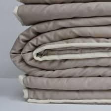 Wool Filled Duvet Wool Filled Duvet Cover In Forever Blue Color Cotton Sateen