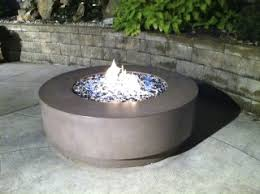 Concrete Firepit Warm Up This Fall And Winter With A Custom Concrete Pit