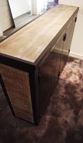 Table Acier Bois Industriel by 12 Best Maison Brun D U0027acier Images On Pinterest Brown Kitchen