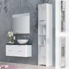 armadietti per bagno arredi bianco per il bagno ebay