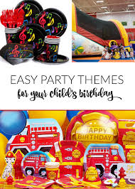 party themes kid birthday party themes