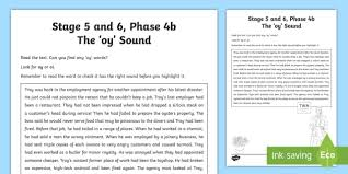 northern ireland linguistic phonics stage 5 and 6 phase 4b