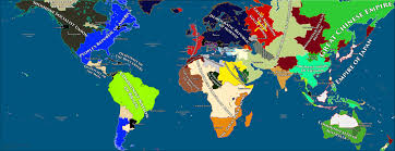 Mayan Empire Map Civ V My 42 Civ Game Map After 591 Turns Civ