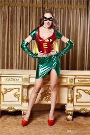 Womens Robin Halloween Costume Quality Women Underwear Game Uniforms Cosplay