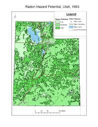 Map Of Logan Utah by Ibis Ph Health Indicator Report Radon