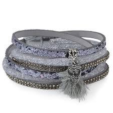 crystal buckle bracelet images 13 styles candy wide crystal leather velvet bracelet magnetic jpg