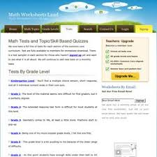 math worksheets land tons of printable math worksheets from all