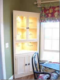 the craft patch corner hutch furniture makeover diy furniture