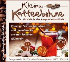 Reha Zentrum Bad Driburg Kleine Kaffeebohne Ihr Café In Der Knappschaftsklinik Bad
