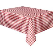 picnic table covers walmart plastic red gingham table cover 108 x 54 walmart com