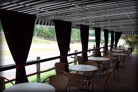 outdoor awning fabric restaurant patio covers outdoor dining canopies
