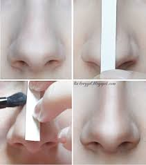easy nose contouring tutorial step by step pictures for pale skin