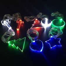 flashing christmas light necklace led christmas light necklace wholesale christmas suppliers alibaba