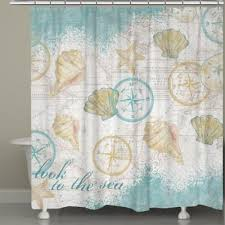 Nautical Bathroom Curtains Buy Nautical Bath Curtain From Bed Bath Beyond