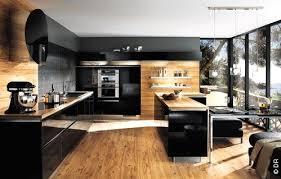 cuisine avec piano cuisine moderne avec piano de cuisson photos de design d dans