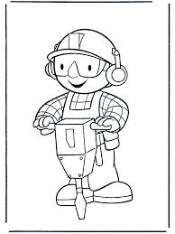 coloring pages bob builder bob builder coloring