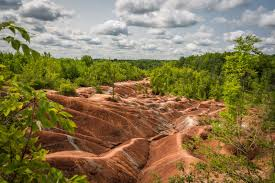 Caledon Forest Map Cheltenham Badlands Trail Ontario Trails Council